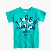 Boys' tiger team T-shirt