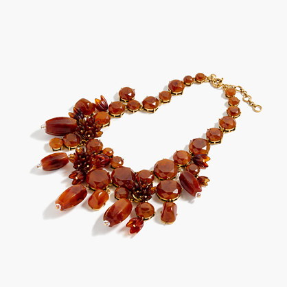 Poppy drop necklace