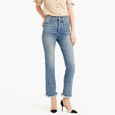 Point Sur relaxed cropped bootcut jean