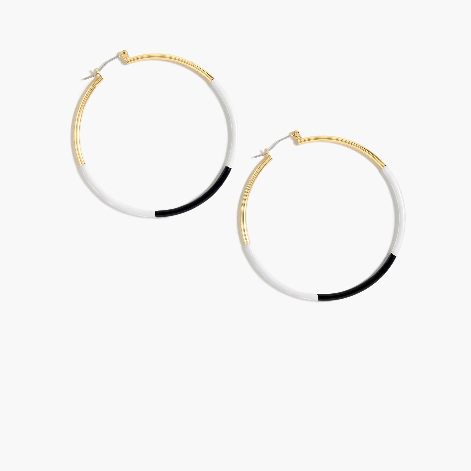 Elegant Shop Womenu0026#39;s Loulabelle Joylynn Silver And Turquoise Hoop Earrings