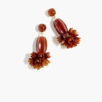 Poppy drop earrings