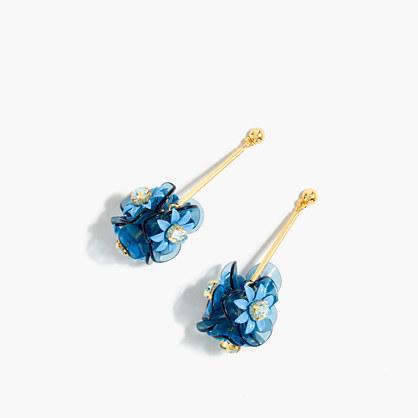 Bouquet drop earrings