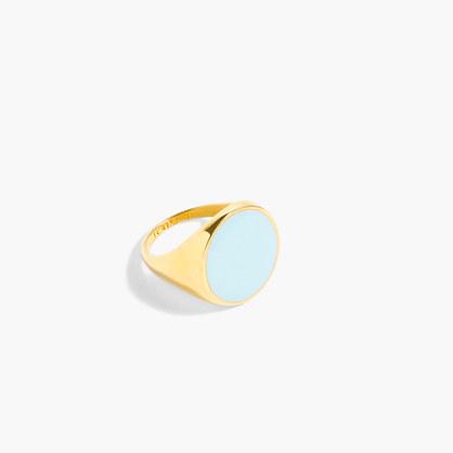 Large enamel ring