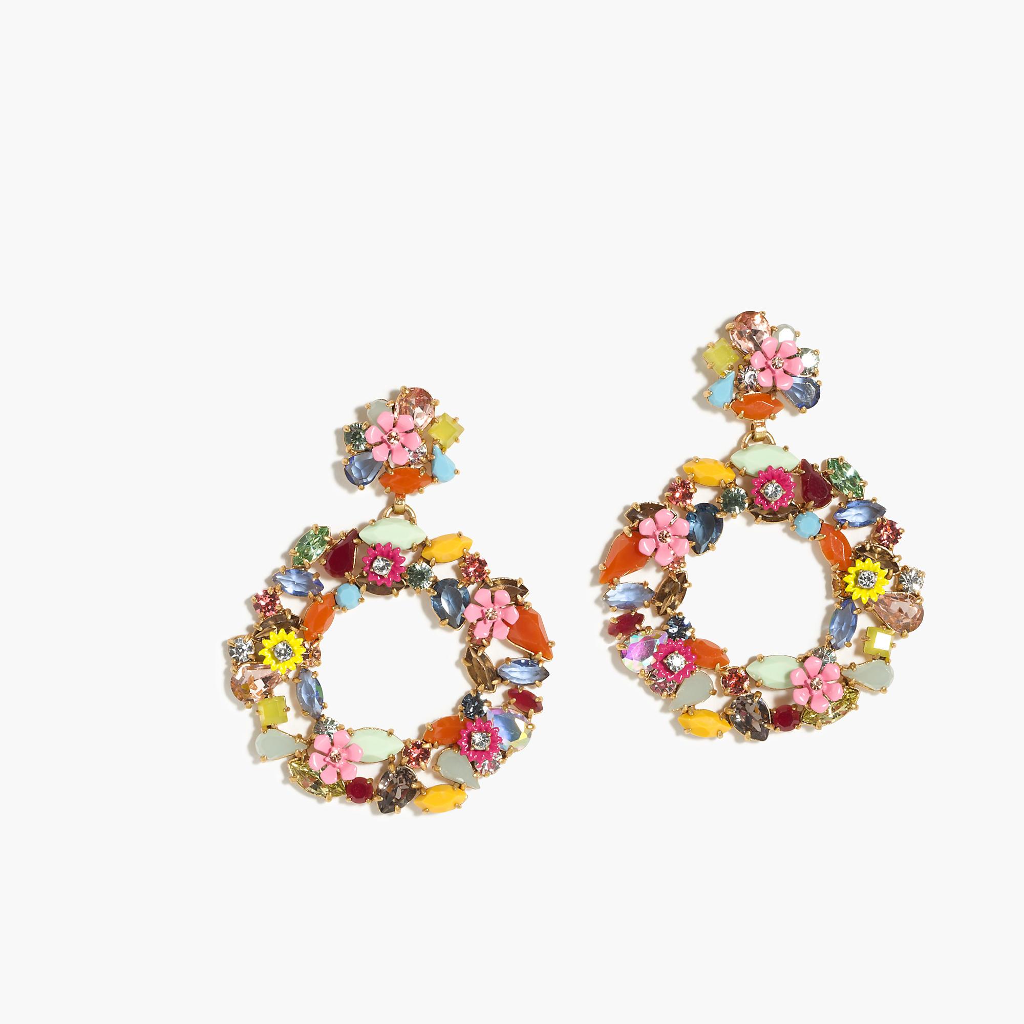 Colorful Floral Hoop Earrings  Women Earrings  Jcrew. Baguette Bands. Eternity Band Wedding Rings. Bauble Beads. Love Knot Stud Earrings. Skull Engagement Rings. Leverback. Marquise Stud Earrings. Light Weight Chains
