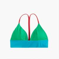 Reversible French bikini top