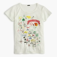 """California"" destination art T-shirt"