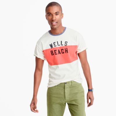 Wells Beach graphic T-shirt