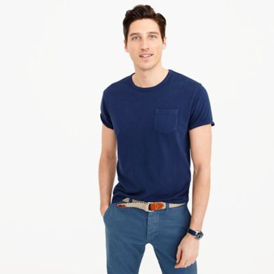 Wallace & Barnes short-sleeve T-shirt in circular knitted jersey