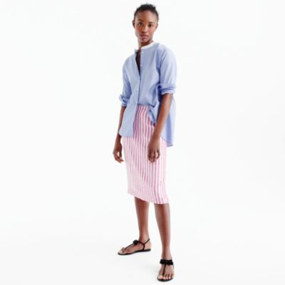 Collection striped sequin skirt : | J.Crew