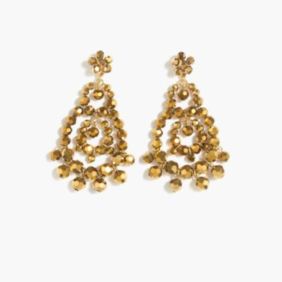 Beaded rumba earrings
