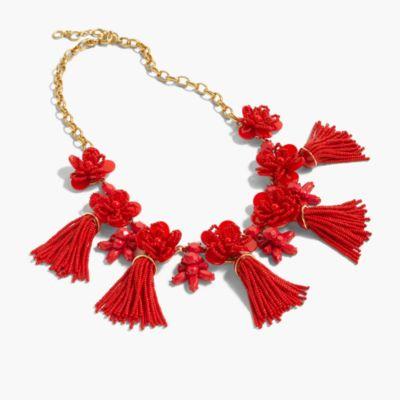 Honeymoon tassel necklace
