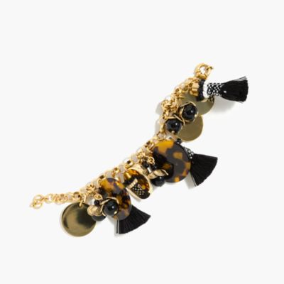 Fun tassel charm bracelet
