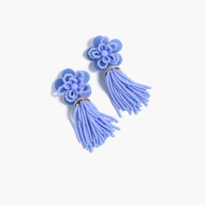 Bold tassel earrings