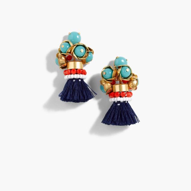 Fun tassel earrings