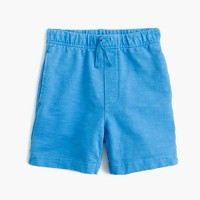 Boys' garment-dyed dock short