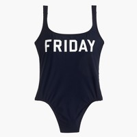 Friday one-piece swimsuit