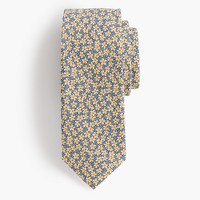 Cotton tie in Liberty® speckle floral