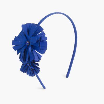 Girls' double flower headband