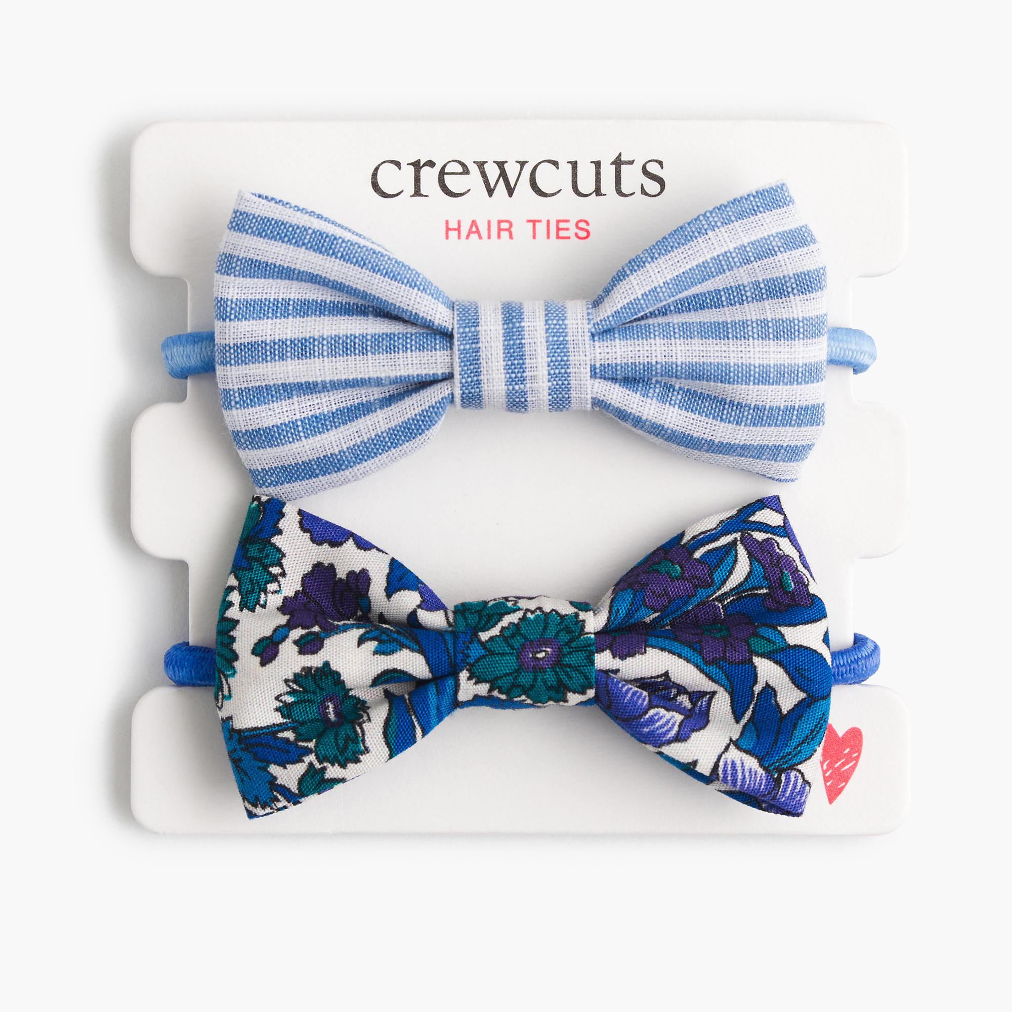 Girls Fabric Bow Hair Ties Girl Hair Accessories J Crew