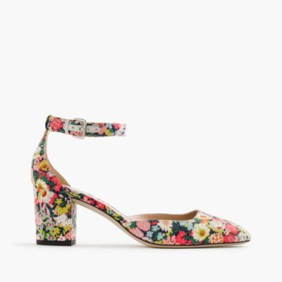 Elliot heels in Liberty® Thorpe floral