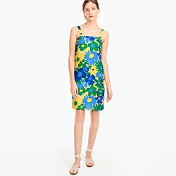 Petite shift dress in morning floral