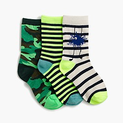 Boys' Max the Monster socks three-pack