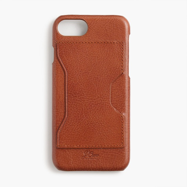 Leather case for iPhone® 6/6s/7 with cardholder