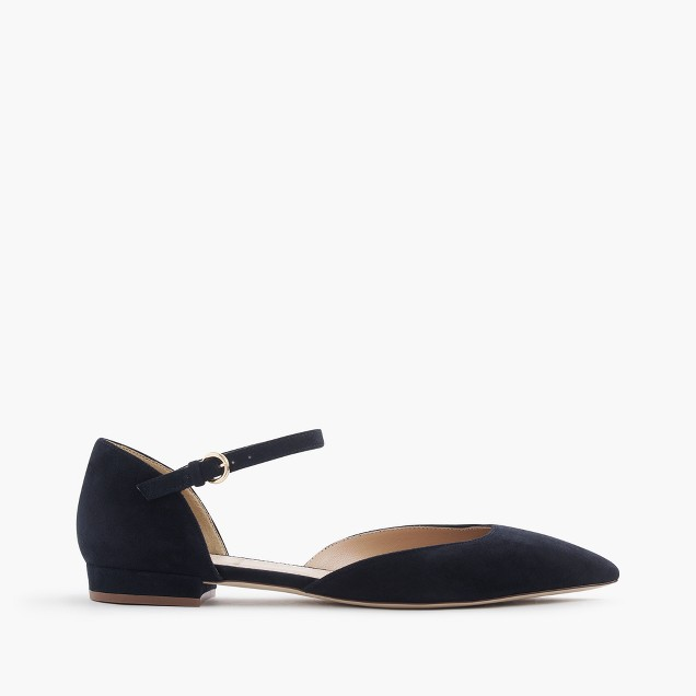 Lily suede flats