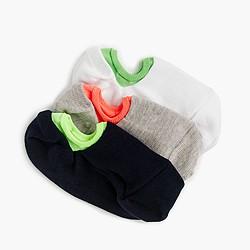 Boys' no-show socks three-pack