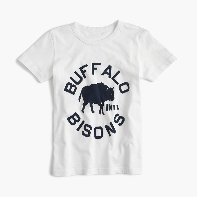 Boys' Ebbets Field Flannels® for crewcuts Buffalo Bisons T-shirt