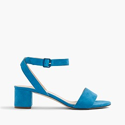 Lottie suede sandals