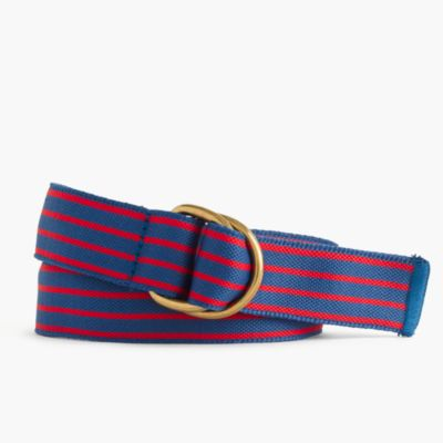Boys' striped belt