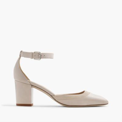 Elliot leather heels