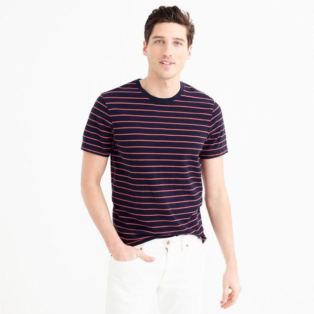 Piqué T-shirt in stripe