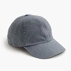 Garment-dyed ball cap