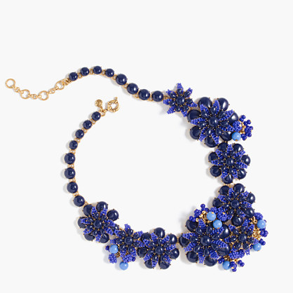Gardenia statement necklace
