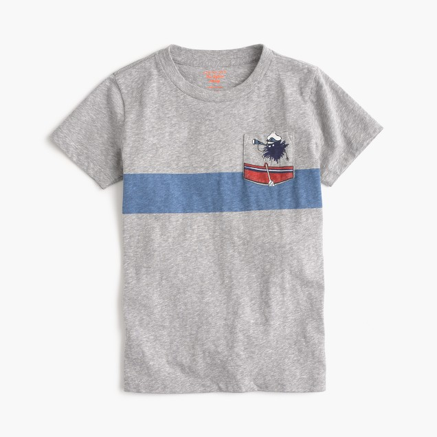 Boys' seafaring Max the Monster T-shirt in the softest jersey
