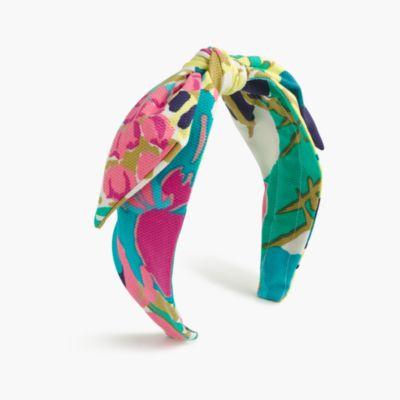 Girls' topknot headband