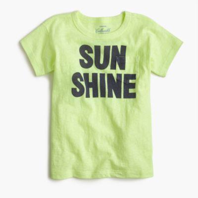 """Girls' """"sunshine"""" T-shirt"""
