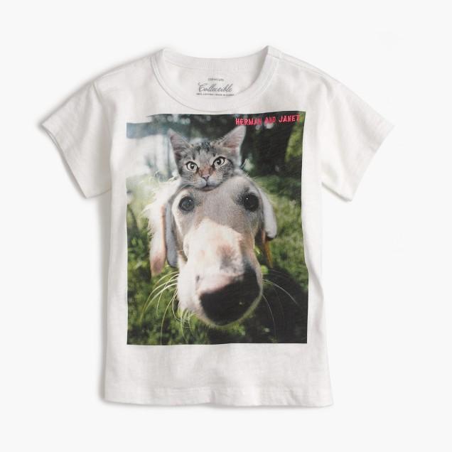 Girls' unexpected friends T-shirt