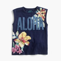 "Girls' ""Aloha"" T-shirt"