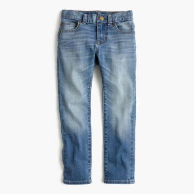 Boys' light wash jean in skinny fit