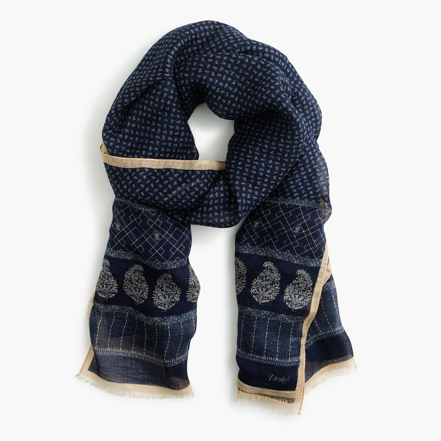 Drake's® paisely scarf