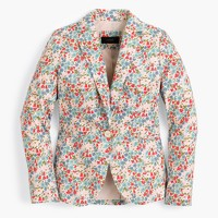 Tall Campbell blazer in Liberty® poppy and daisy floral