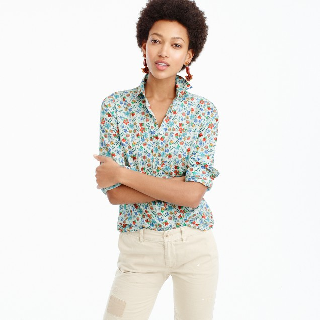 Perfect shirt in Liberty® Edenham floral