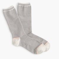 Striped trouser socks