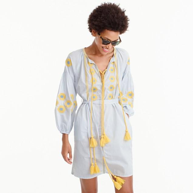 Gallabia™ embroidered tunic