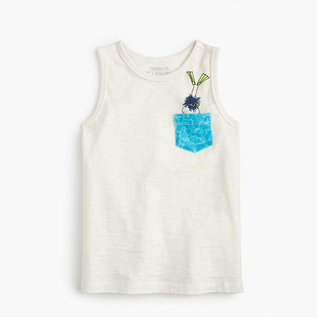 Max the Monster diving pocket tank top