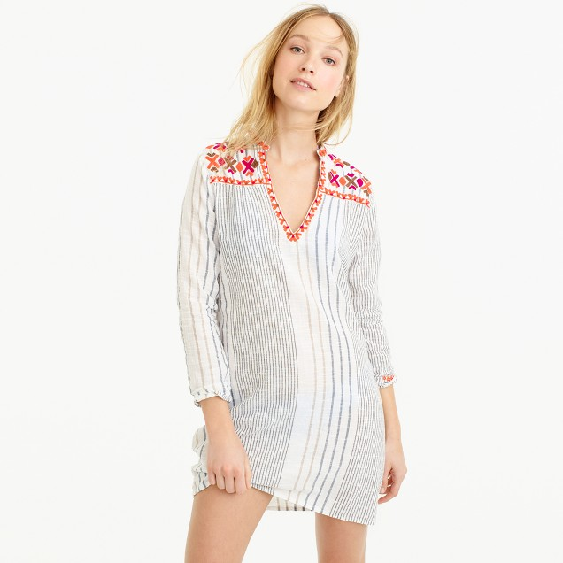 Gallabia™ Maui mini striped tunic