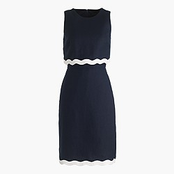 Petite going-places dress in linen